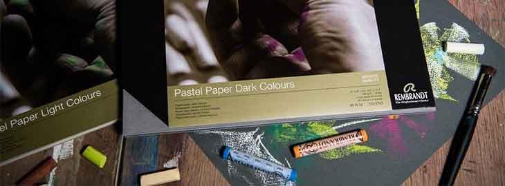 rembrandt pastel papir
